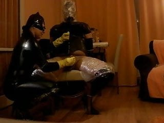 Preview 2 of intense P.O.T. femdom handjob private sesion with breathplay
