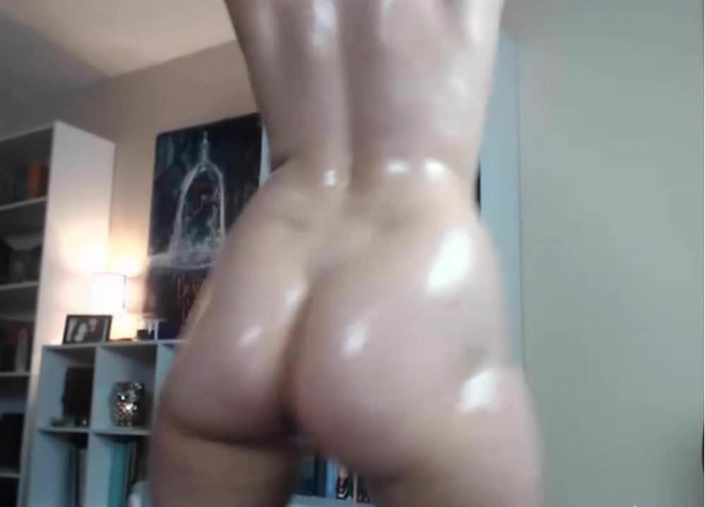 Teen boobs all oiled