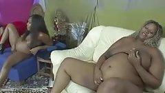 Schwangere ebony's besorgen es sich