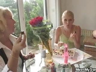 Lllegal young pussy madness - His mom gets mad fucking her sons girlfriend