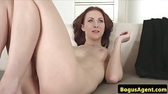 Cocksucking amateur pussy fucking for casting