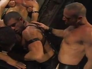 Pounding leather
