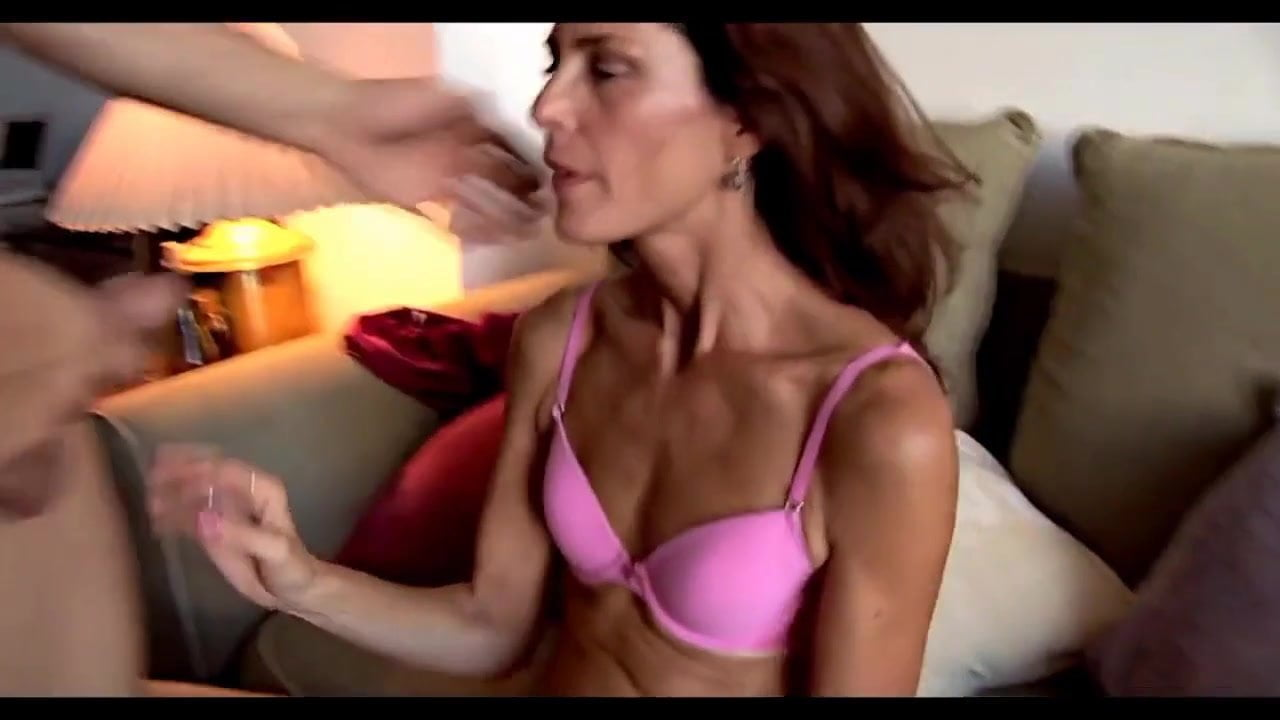 Mature muscular women blowjob #13