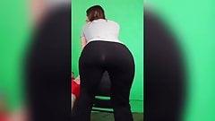 Kat Jovey's Giant Ass Twerking
