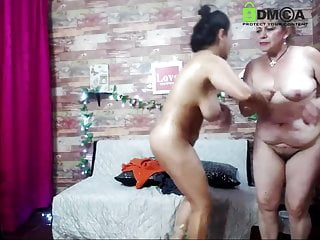 Teen strips her grandma on cam