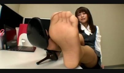 Nylon feetoffice amateur pic think, that