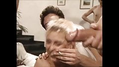 Milf Orgy Bukkake Party on her Wedding night
