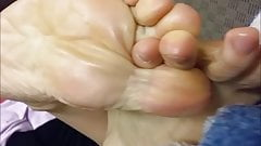 My mom's feet and soles