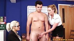 British office femdoms wank su