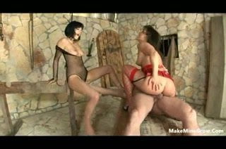 Sperm Swap Redheaded and blonde locks get banged and swap