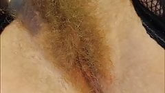 Hairy Blonde Pusy (CloseUp)