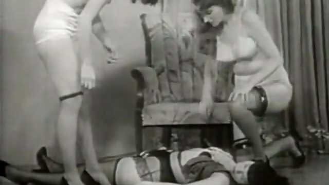 Preview 1 of Beautiful Girls  taken away a Cute Chick (1950s Vintage)