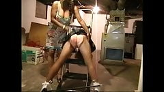 ladder spanking 1