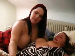 Busty lesbian girls go wild