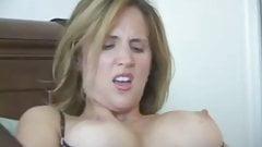 Sexy blonde slut toying pt2...