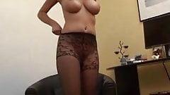 Stockings and pantyhose