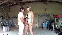 Slave Suzi taking Cock's Thumb