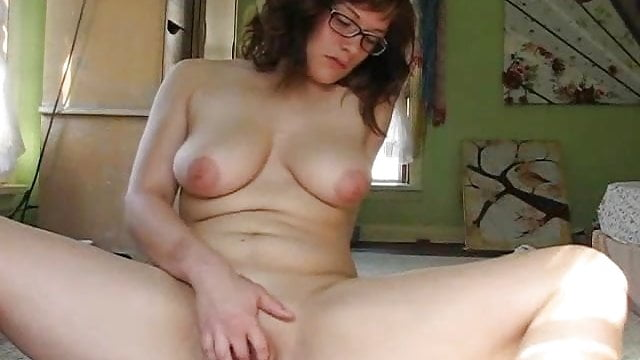 Busty woman smothers skinny woman