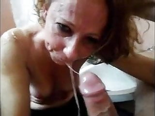amateur slut deepthroats and gags on BWC - kcxxx