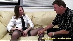 extreme anal and deepthroat girl