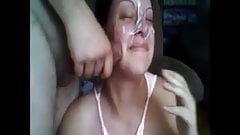 Facial Cumpilation - 9 minutes with face loads of cum