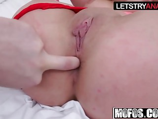 Ashley Adams - Busty Teen Tries Anal - Lets Try Anal