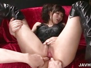 download latex clad megumi shino finds herself in a nasty