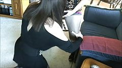 Horny femdom girl makes sevy suck & fuck