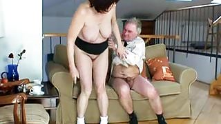 Busty Fat Granny Has Sex With Grandpa
