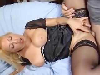 Italian Saggy Tits MILF Assfucked Stockings