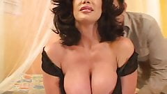 Busty mature loves anal