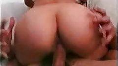 Redhead in a interracial fuck mmf