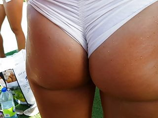 Candid Stunning Tanned Blonde Pawg!!! pt3