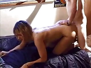 Amateur big butt milf with younger boy