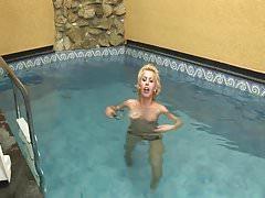 Tranny at the pool
