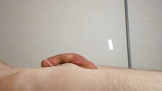 Straight Boy cum solo - First amateur wank & sperm on camera