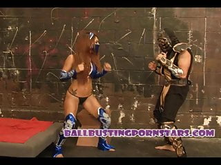 Adult dehydration mortality - Mortal kombat cosplay sex and ballbusting with crystal lopez