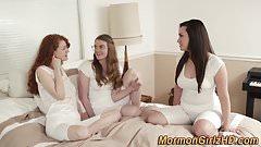 Lesbian mormon muffdived