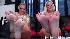 Suck on my slender toes