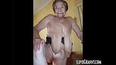 ILoveGrannY Homemade Grandma Picture Showoff