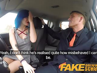 Preview 3 of Fake Driving School Anal sex and a facial finish