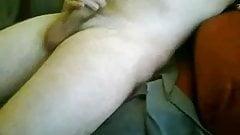Masturbating on webcam