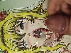(SoP) Tongue Out Slut Awaiting Bukkake by Ken
