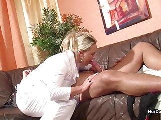 German MILF Nurse helps patient with Fuck to feel good