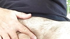 A little rub of my cock