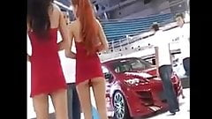 Hot Promoter Red Head Show Ass