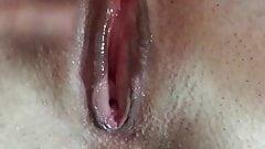 Ich reib mir meine nasse Pussy mit Analplug