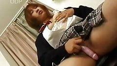 Japanese schoolgirl gets nasty