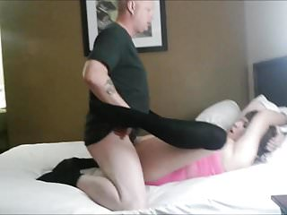 Chained to a motel bed, second guy, sloppy seconds...