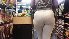 Bubble Booty VPL Grey Leggings (Checkout Line)